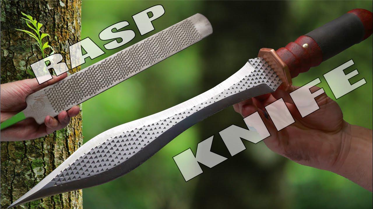 厉害了!用粗糙的锉刀锻造一把希腊剑