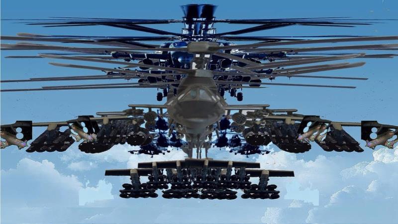 美军阿帕奇武装直升机武器令人眼花缭乱不愧世界最强