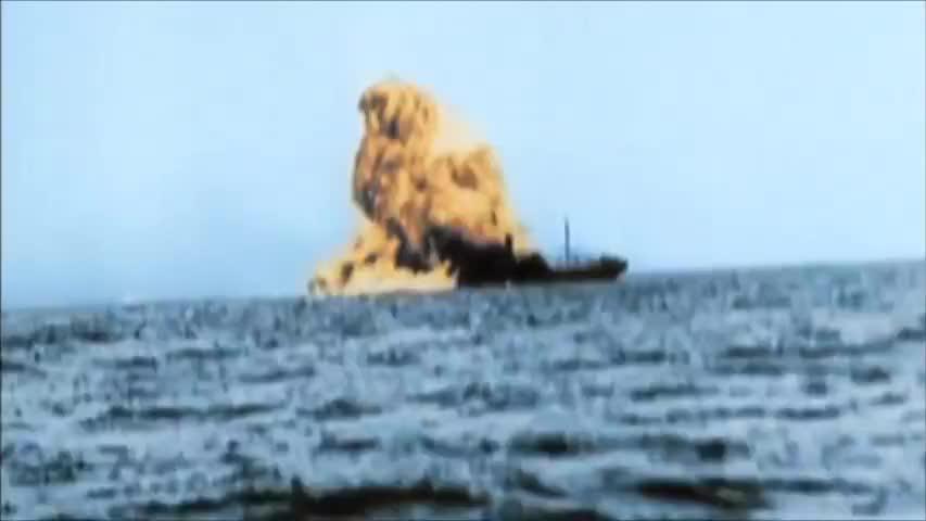 二战时期只要归属盟国的,不论是商船还是舰船一律击沉