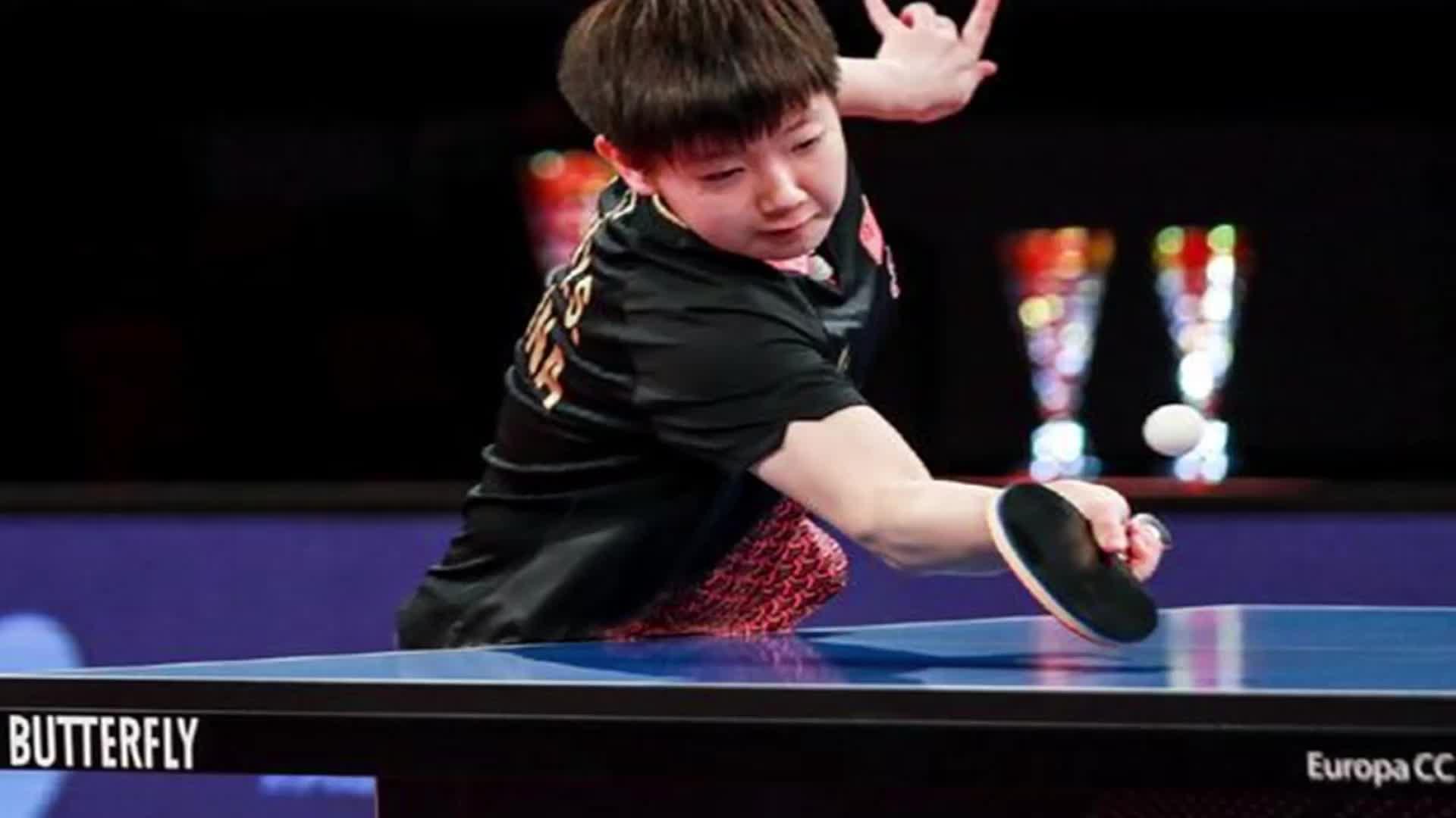 孙颖莎4比1吊打日乒一姐夺冠 德国赛国乒4金收官