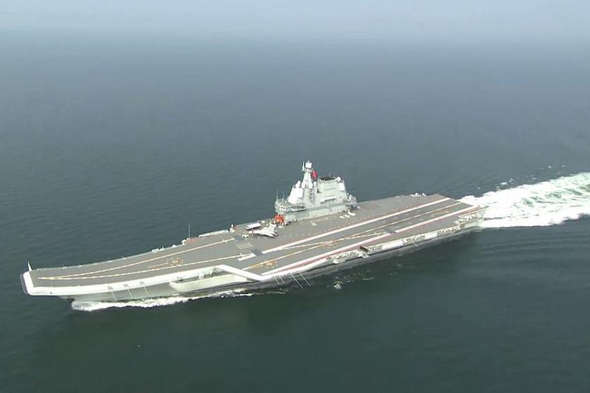 002型航母第9次海试,美专家表示:向中国学习才不至于技术上落伍