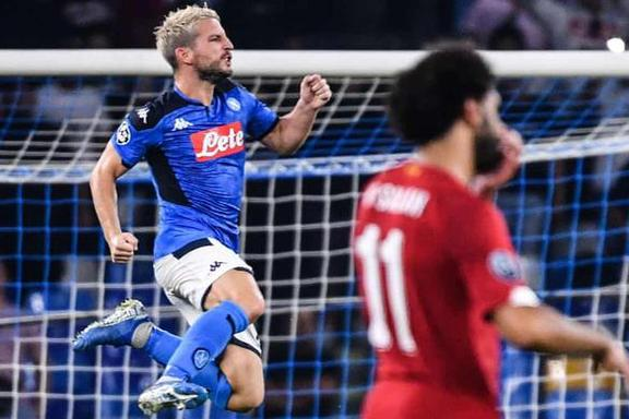 那不勒斯vs利物浦:四重奏比三叉戟火力更猛,库利巴利赢了范迪克