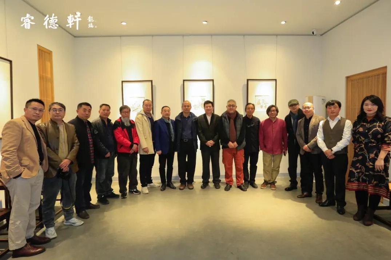 万木长春——王赫赫小幅书画精品展在中国宋庄睿德轩开幕