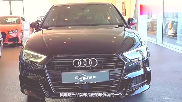 视频:欣赏一下奥迪A3吧,设计非常犀利的一款车,也是豪车代表