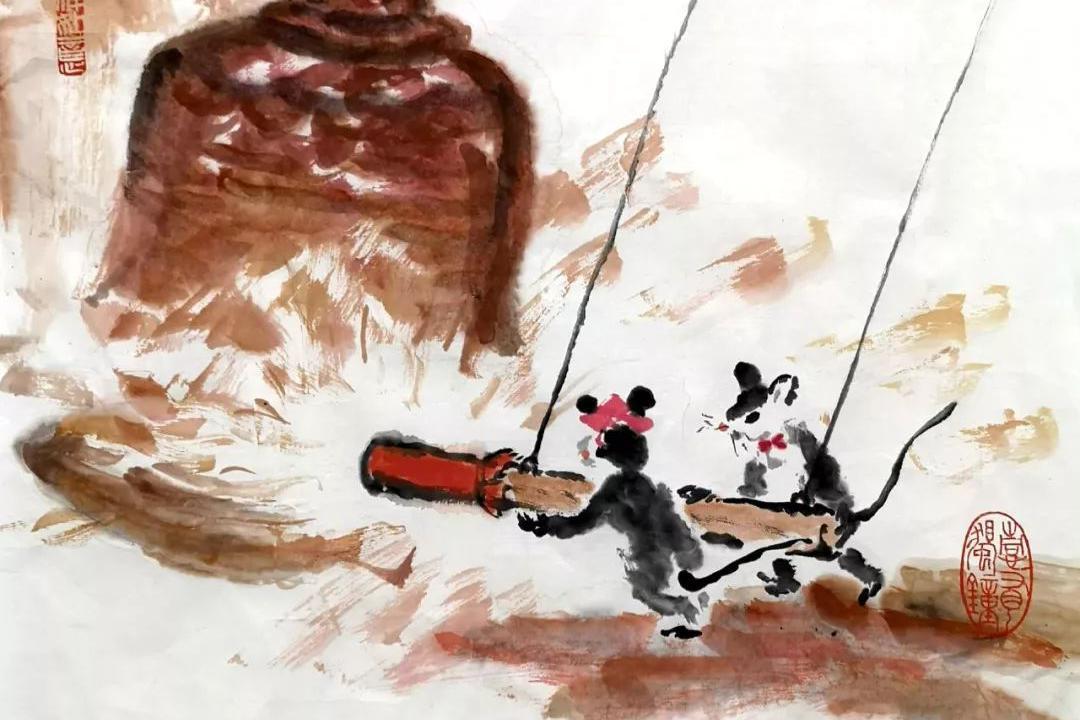 金鼠祈福 翰墨呈祥一一刘祖鹏艺术工作室迎新作品展