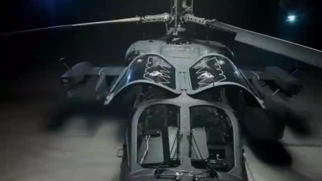 卡-52武装直升机高清细节 粗糙做工暗藏诸多新设计 机炮碉堡