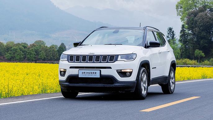 实拍Jeep全新指南者,王牌四驱+四轮独悬,超低油耗性价比爆棚