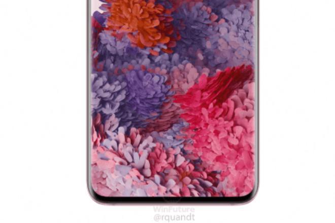 三星Galaxy S20粉色版渲染图曝光