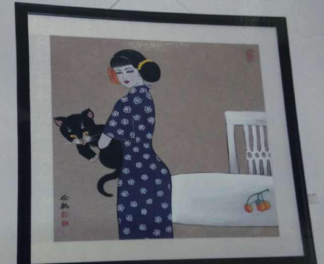 当代国画家徐鹤中国画小写意作品欣赏