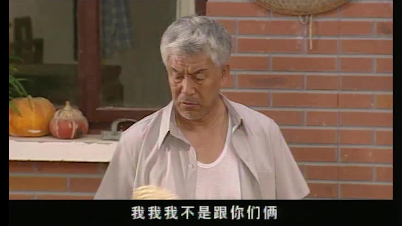 老头子被城里小儿子赶回到乡下,对着大儿子媳妇发火,太不应该了