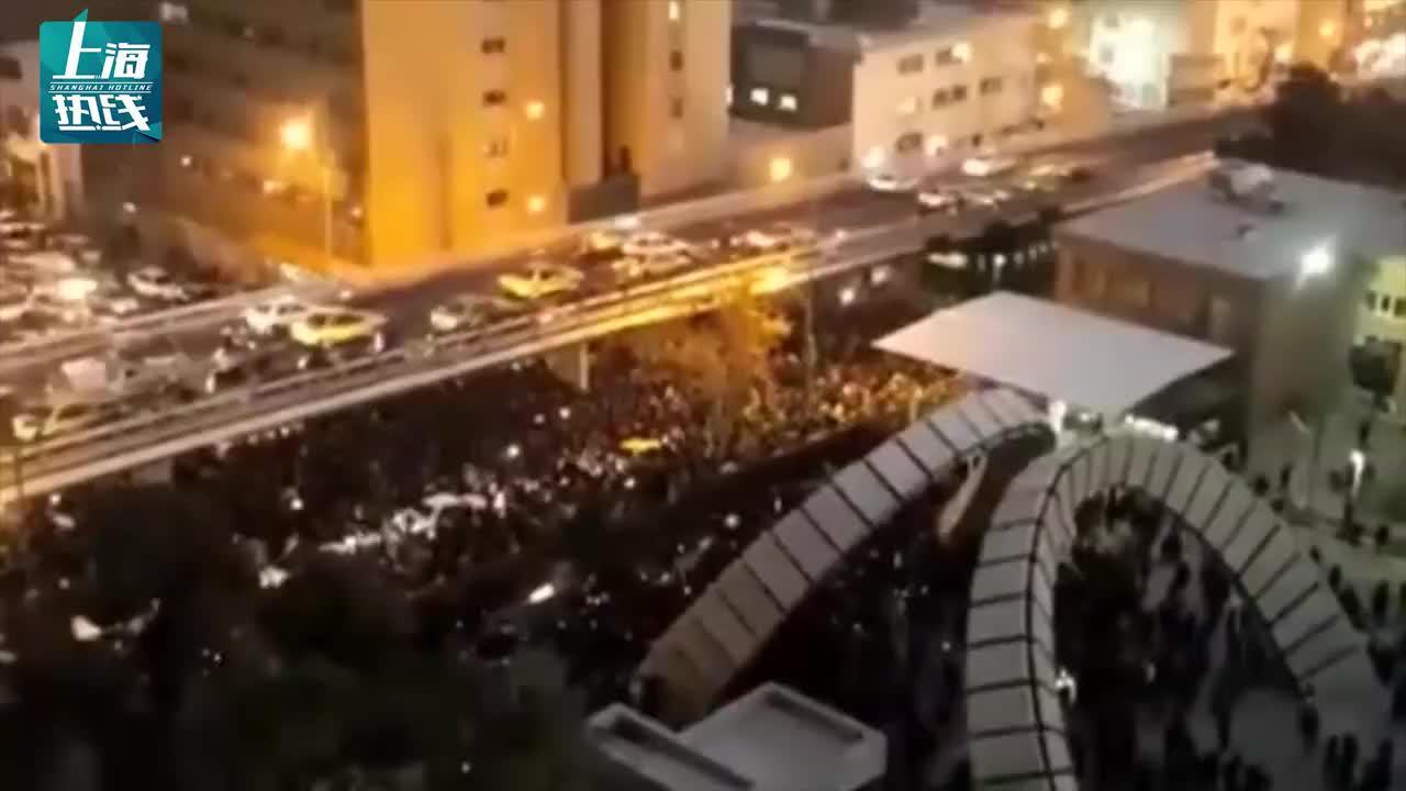 伊朗全国爆发性游行示威,要求最高领袖下台,美国趁机煽风点火