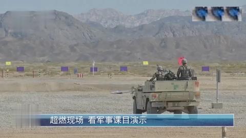 07式122毫米自行榴弹炮 82毫米速射迫击炮火力展示