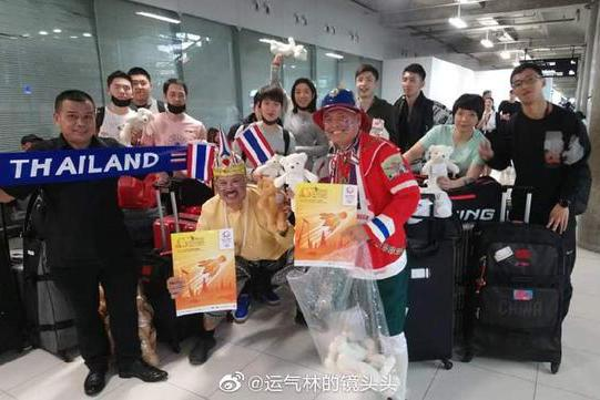 国羽抵达泰国:众世界冠军领衔半主力出战,林丹未现身谌龙已退赛
