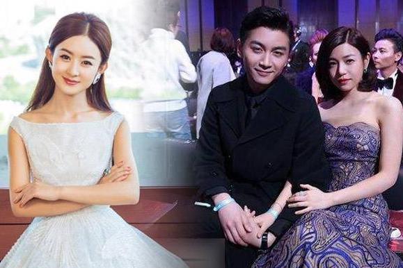 当32岁赵丽颖碰上36岁陈妍希,差距不是一般大,不知陈晓怎么想的