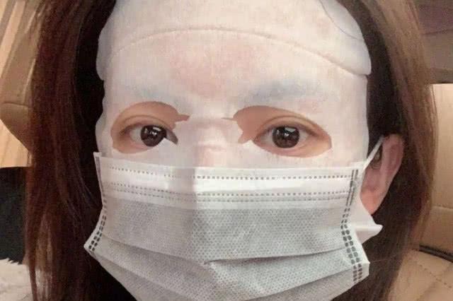 金晨为抗击肺炎,敷面膜不忘戴口罩,却被吐槽口罩不符合要求!