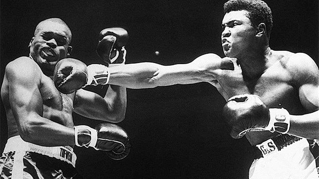 无可争议的最伟大拳击手阿里