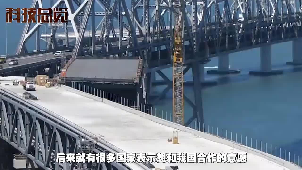 中国首条跨海铁路横空出世火车在海上游泳美怎么可能