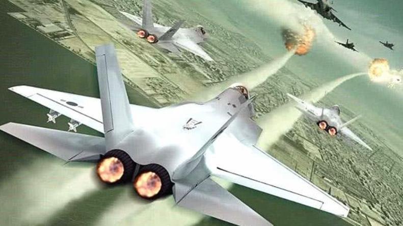 不甘落后!印度首次展示五代飞机模型,预计将在2023年首飞!