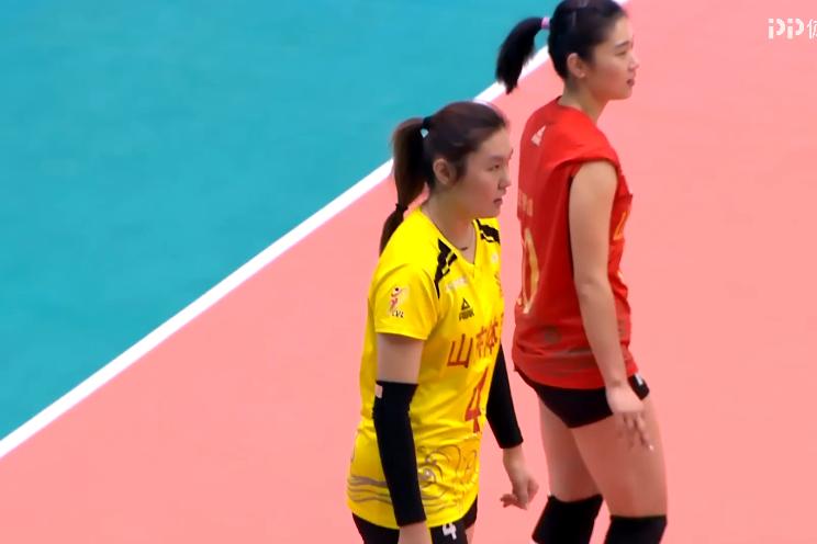 19/20赛季中国女排超级联赛第二阶段第3轮,山东女排3-0北京女排