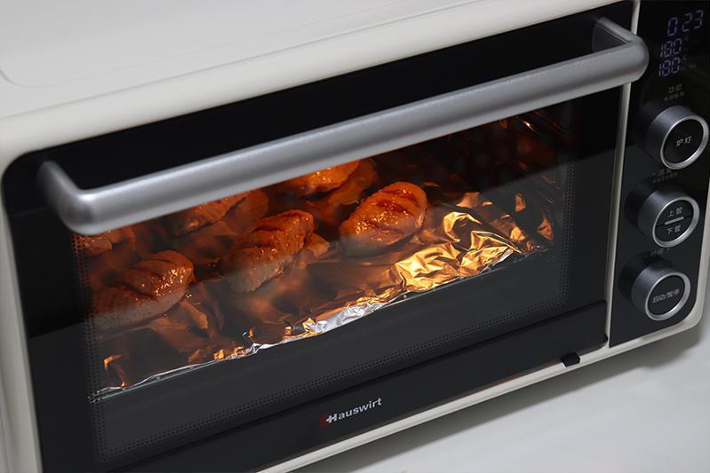精灵语音智控,专业烘焙更省心:海氏i3智能烤箱体验