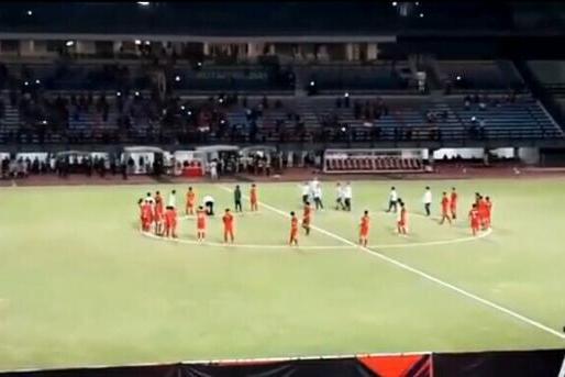 当球迷还对国足平菲律宾耿耿于怀时,U19国足已经1-3输印尼了