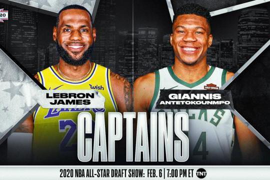 NBA全明星首发阵容公布!詹姆斯生涯第七次当选票王