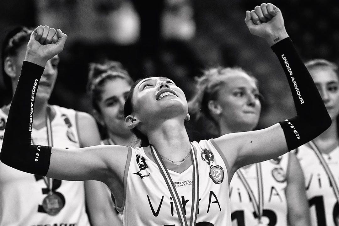 2019土耳其女排超级杯,金哥带领伊萨奇巴希夺冠美图!