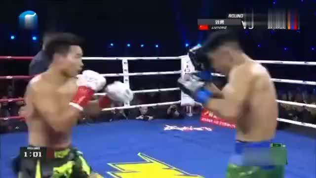 中国猛将重拳炮轰蒙古壮汉巴扎尔桑无力还手真激烈