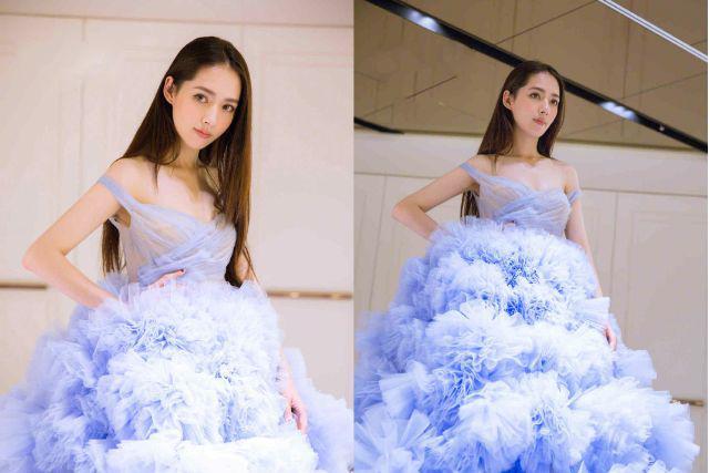 郭碧婷曝向太正为她筹办婚礼,迫不及待试穿婚纱,身材曝光太惊艳