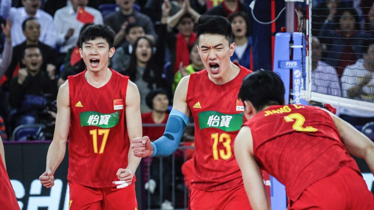 看看中国男排谁入选?东奥落选赛亚洲区精彩拦网集锦!