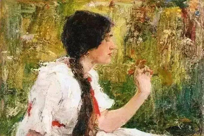 他对老师列宾有高度的肯定和评价,但在艺术追求上却有自己的主张