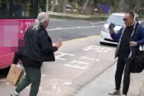 72岁TVB老戏骨罕露面,赶公交健步如飞,和前妻离婚9年仍住一起
