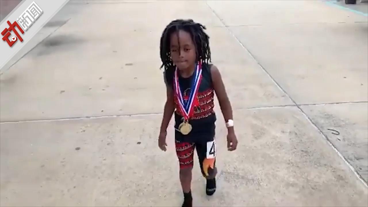 美7岁男孩百米成绩13秒48!父亲盛赞:世界上跑最快的7岁孩子