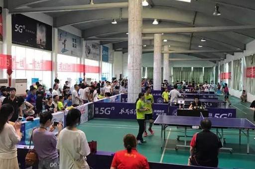 第七届中国联通乒乓球挑战赛信阳赛区圆满落幕