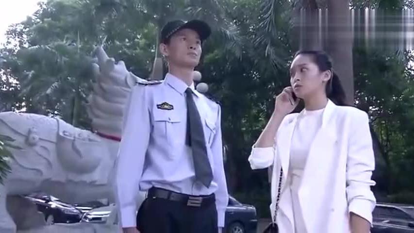美女主管租小保安假扮男友回家,沒想到这回却被小保安赖上了