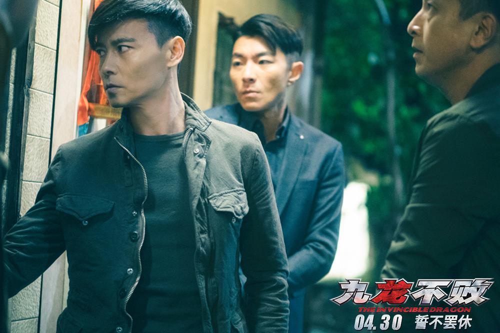 电影《九龙不败》定档4.30 张晋化身不败神探殊死对决杀人狂魔