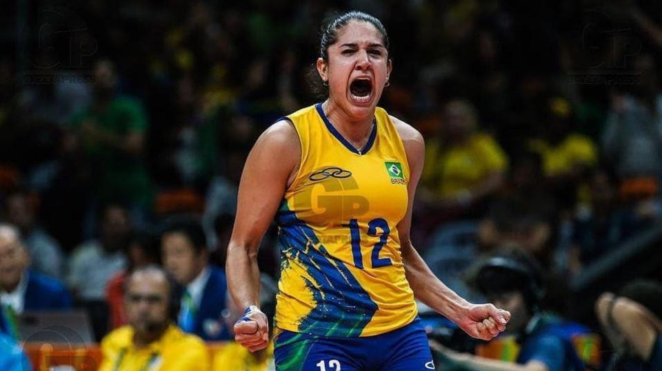 娜塔莉亚!可爱又霸气的小肥肥,2019世界女排联赛风采录!