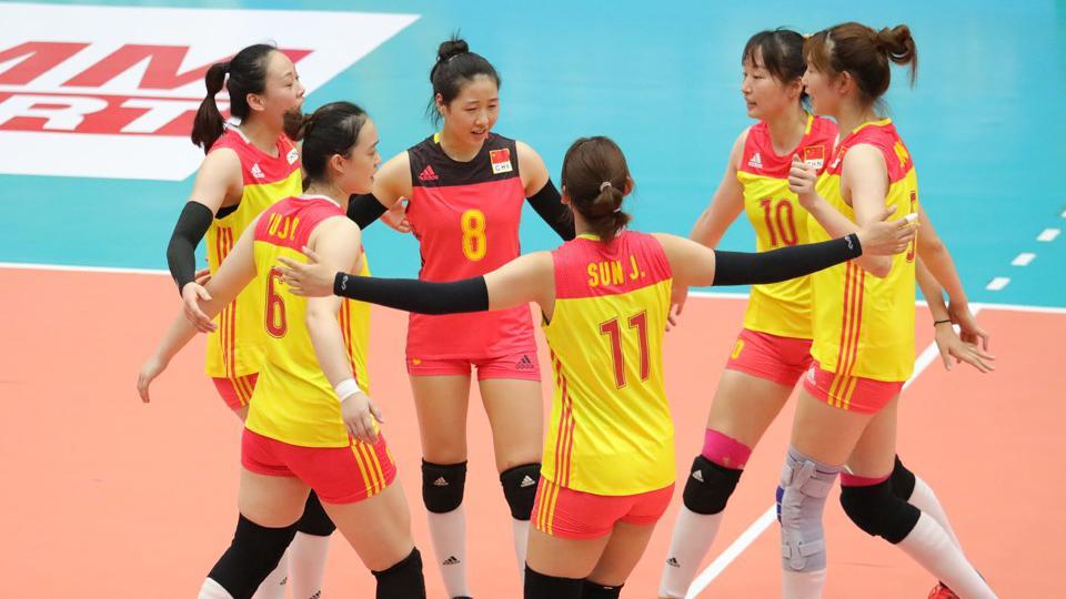 中国女排开门红!U23女排亚青赛中国3:0中国台北全场HL