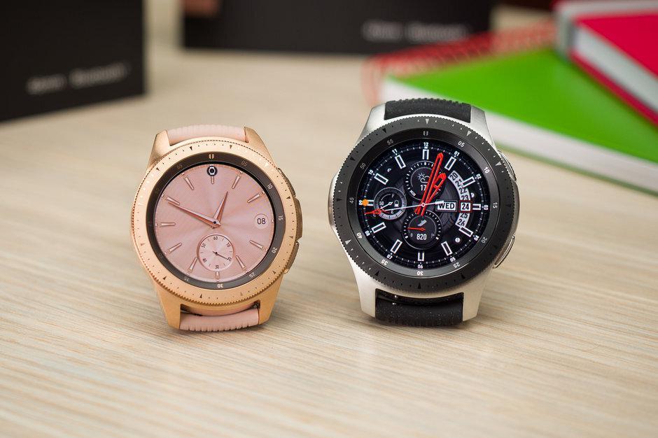 新的Galaxy Watch更新解除警报同步,为游泳员带来好消息
