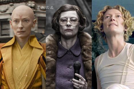 """""""千面怪""""蒂尔达·斯文顿:她的人生比饰演过的角色还精彩"""