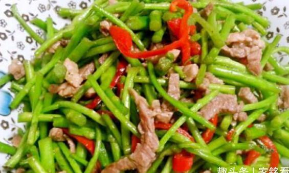 精选美食:芦蒿炒肉丝、莲藕烧咸鱼、青红椒拌虾皮、紫菜虾皮汤