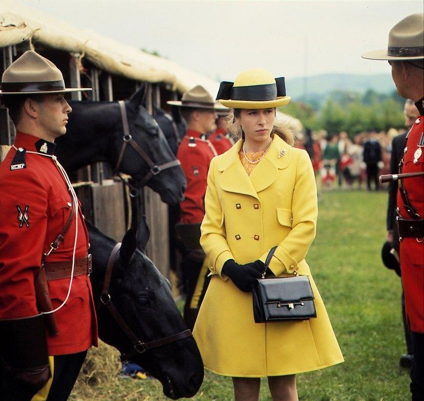 王室风范 英国低调的安妮公主60-70年代罕见的雅照
