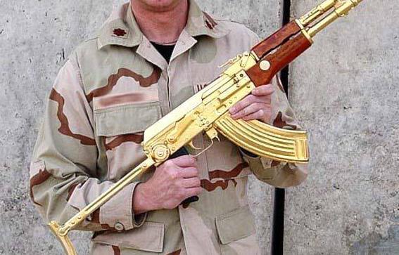 全球4把价值连城的枪,黄金AK-47仅排在末位,第一来自中国