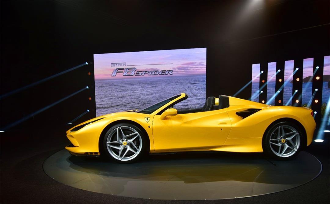 法拉利F8 Spider,亮相2019法兰克福国际车展