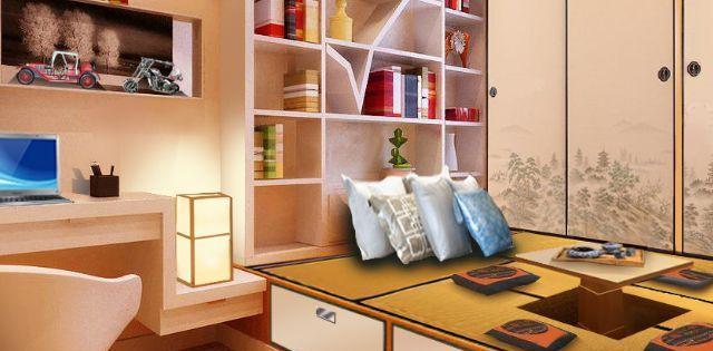 研究中的塔塔米装饰设计更实用、更美观。