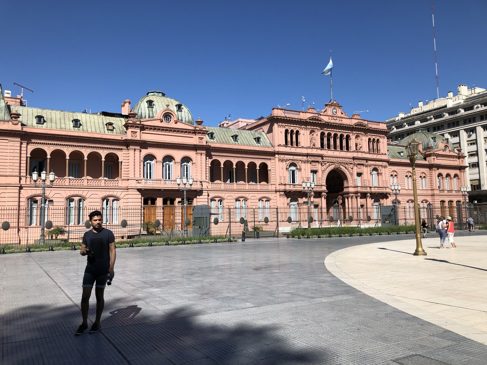 阿根廷 布宜诺斯艾利斯 玫瑰宫(Casa Rosada),又称为总统府