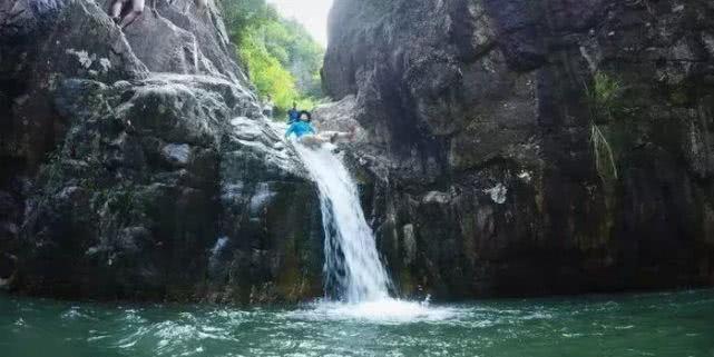 24湿身天台白水溪 溯溪大峡谷 穿越清凉之旅