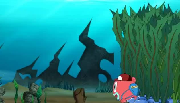 泡泡鱼:泡泡鱼说寻宝迷路了,看不懂地图吗
