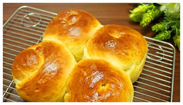 早餐营养搭配, 奶油餐包, 西点烘焙教程