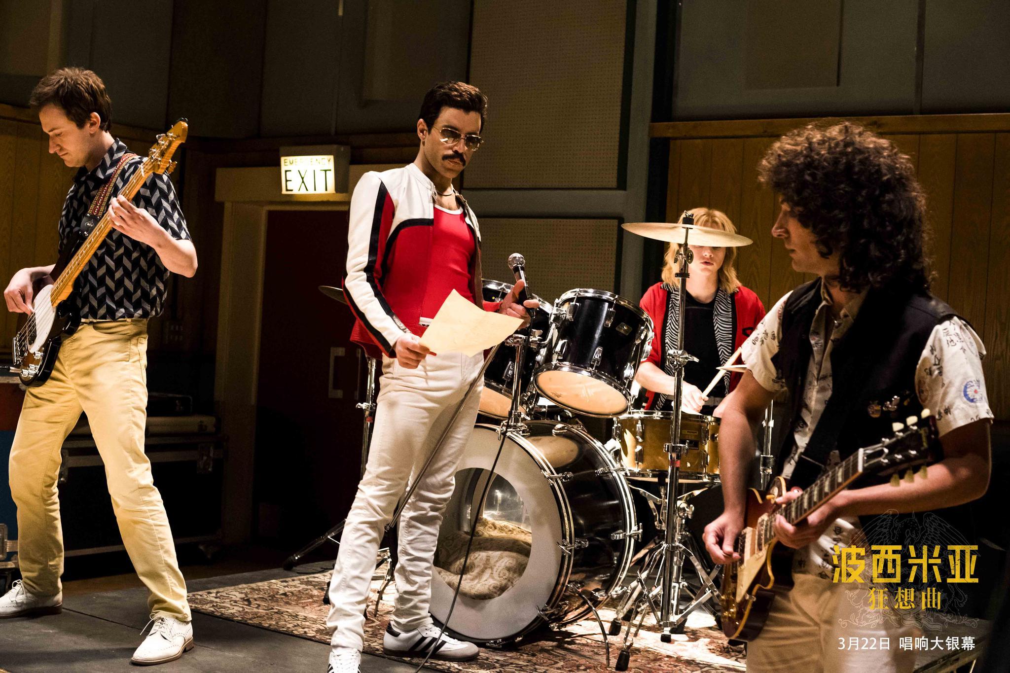 《波西米亚狂想曲》幕后特辑 本·哈迪每天练鼓10小时复刻传奇